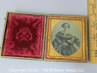 Female Daguerreotype in Case