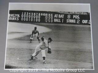 Last pitch of Don Larson's Perfect World Series Game