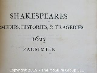 Facsimile # 517/1000 of subscription list for Shakespeare's Comedies, Histories and Tragedies; published by Henry Frowde, Publisher to the University of Oxford