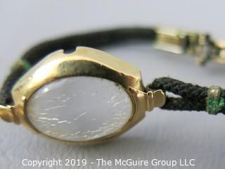 Wittnauer 17 jewel ladies watch, circa 1880's; 14k gold case
