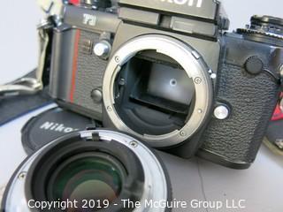 Nikon F3 SLR with Nikkor 50mm f 1.8 Lens