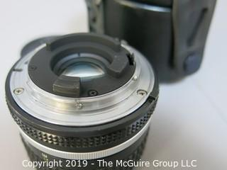 Nikkor 28mm; f2.8 Lens with L37 Nikon Filter and Lens Case