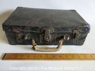 """Vintage Case """"Steampunk""""; 4 1/2"""" x 8 1/2"""" x 19 1/2"""""""
