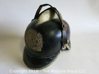 1872 German Fireman's Helmet