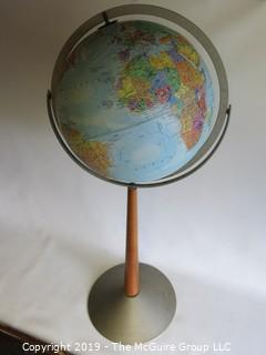 "M-C 3-Axes Floor Stand Globe; 31"" Tall"