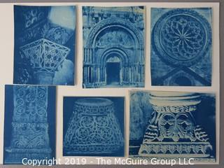 Photos: Historic: Unaccredited: Cyanotypes: Architecture