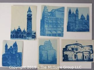 Photos: Historic: Unaccredited: Cyanotypes: Cathedrals