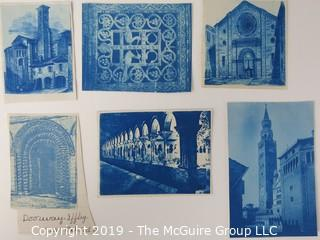 Photos: Historic: Unaccredited: Cyanotypes: Architecture & Cathedrals