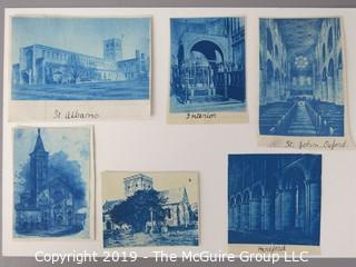 Photos: Historic: Unaccredited: Cyanotypes: Architecture, Cathedrals, Oxford