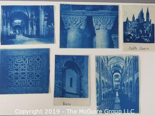 Photos: Historic: Unaccredited: Cyanotypes: Architecture & Italian Cathedrals
