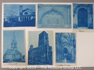 Photos: Historic: Unaccredited: Cyanotypes: Architecture & Various Cathedrals