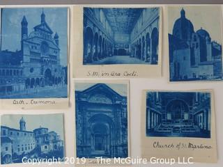 Photos: Historic: Unaccredited: Cyanotypes: Italian Cathedrals