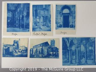 Photos: Historic: Unaccredited: Cyanotypes: Architecture and cathedrals