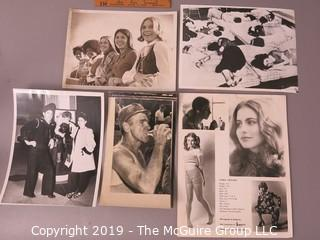 Photo: Historic: Americana: Broad Grouping of M-C images: Publicity page for Linda Craven, Multi ethnic teenagers ('60's), Rescue Worker at Australian cave-in 1953, etc