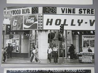 Photo: Historic: Americana: 3 images; Hollywood and Vine (1981); Adult movies at Drive-in; Marde Gras Float; 1948