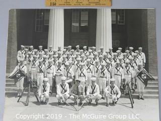 Photo: Historic: Americana: Group/Class photo of Navy students, Military Training School, Newport?