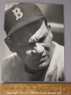 Photo: Large Format B&W: Historical: Baseball: Mike Higgins, Manager, Boston Red Sox