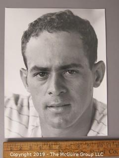 Photo: Large Format B&W: Arthur Rickerby: Historical: Baseball: Subject: Luis Apericio