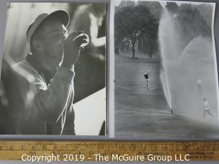 Photo: Large Format B&W: Arthur Rickerby: Historic: Americana: Golfing