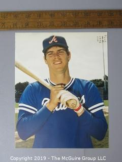 Paper: Print: Photo Facsimiles; Baseball; no original photos or autographs