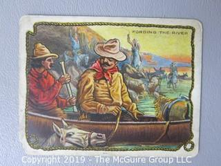 Paper: Collectable: Americana: Vintage Tobacco Cards