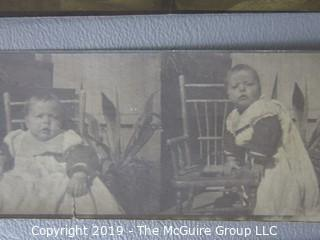 Photos: Historic: Americana: Early 1900's vintage grouping: Babies, Adults, and Kittens
