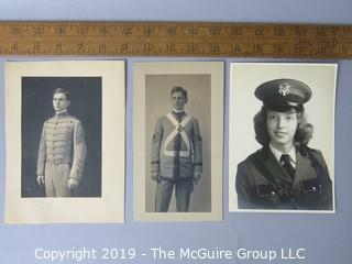 Photo: Historic: Americana: Male and Female Military School photos