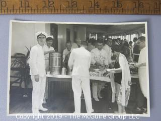Photo: press credited: Historical; Americana: Military Navy