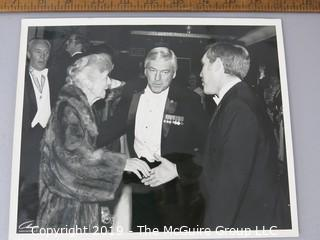 Photo: Historic: Americana: photo of Major Frank(ie) Welch Alex??? at social gathering in WDC ? mid-'60's