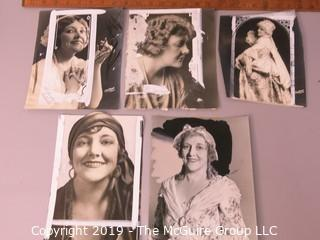Photo: Paper: Historical: Americana: Entertainment: Study of Anna Young singer in 1920's-30's
