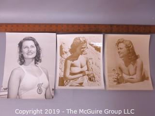 Photo: Unaccredited: Historical; Americana: Three Bathing Beauties