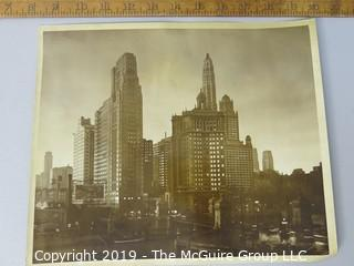 Photo: Unaccredited: Historical; Americana: Afternoon Weather; US Cityscape