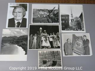 Photo: press credited: Historical; Americana: Roone Arledge, several historical events look at all photos