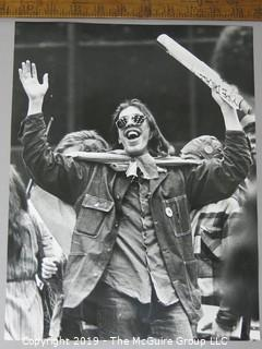 Photo: Chicago Daily News 1971: protesters at Billy Graham Crusade gathering