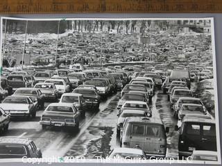 "Photo: unaccredited: Historical; Americana: Chicago Sun Time 1978 ""Traffic at auto show"""