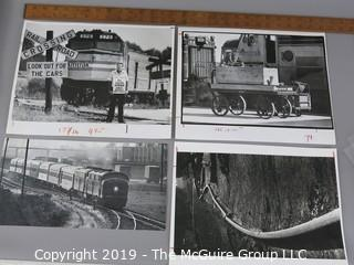 Photo: press credited: Historical: Americana: Trains  AMTRAK