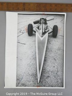 Photo: press credited: Historic: Americana: Auto Show, Chicago, circa 1970