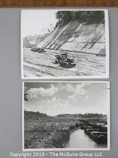 Photo: press credited: Historical; Panama trans isthmus canal