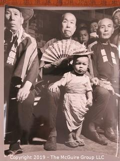 Photo: Rickerby: Historic: Americana: post-WWII Asian men and child