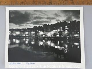 Photo: Large Format B&W; Historical: French port: Doug Chevalier