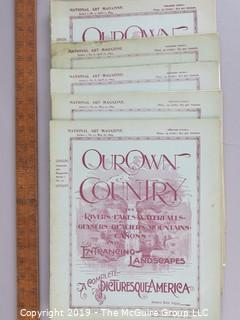 Paper: Historical: 1894 Mag: Our Own Country, 5 issues, pictorial