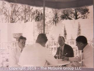 Photo: Historical: Unaccredited: ~20'30's, Naval officer, Social gathering