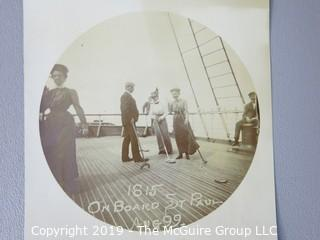"Photos: Historical: Uncredited: European Tour Aboard the ""St. Paul"""