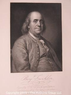 Paper: prints: Historical; Art; various themes B. FRANKLIN