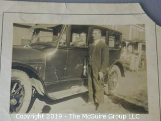 Photo: Paper: Historic: Americana: asst. interesting photos 1900's - 1960's: Black serviceman, delivery truck; night club ad,something for everyone!