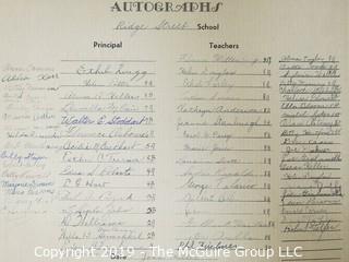 Photo: unaccredited: Historical; Americana:Ridge Street School, Newark, NJ Jan 1963 Class photo with names