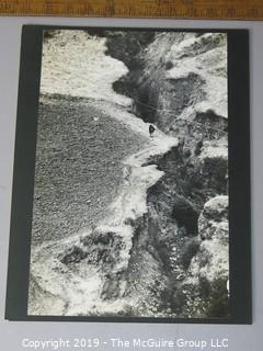 Photo: Large Format B&W, Mounted:: Arthur Rickerby: Historical: Life Mag: Rural Ravine Landscape, Location unknown