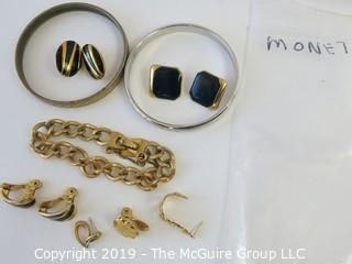 Jewelry: Asst of named MONET costume jewelry. WYSIWYG 2 orphans