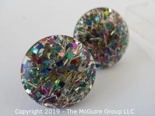 Jewelry: Asst of 3 cuff links: WYSIWYG