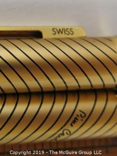 Pen: Pierre Cardin Swiss designer pen, needs cleaning {Note: description altered 9/30/19 @ 5:38pm ET}